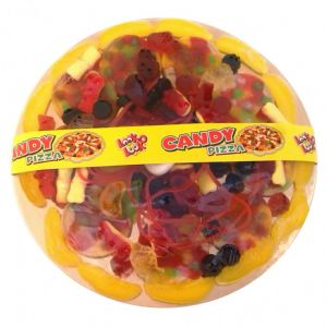 Novelty Candy Pizza - Jelly Sweets Toppings 435g